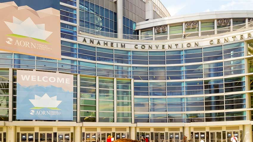 The 2016 AORN conference at the Anaheim Convention Center